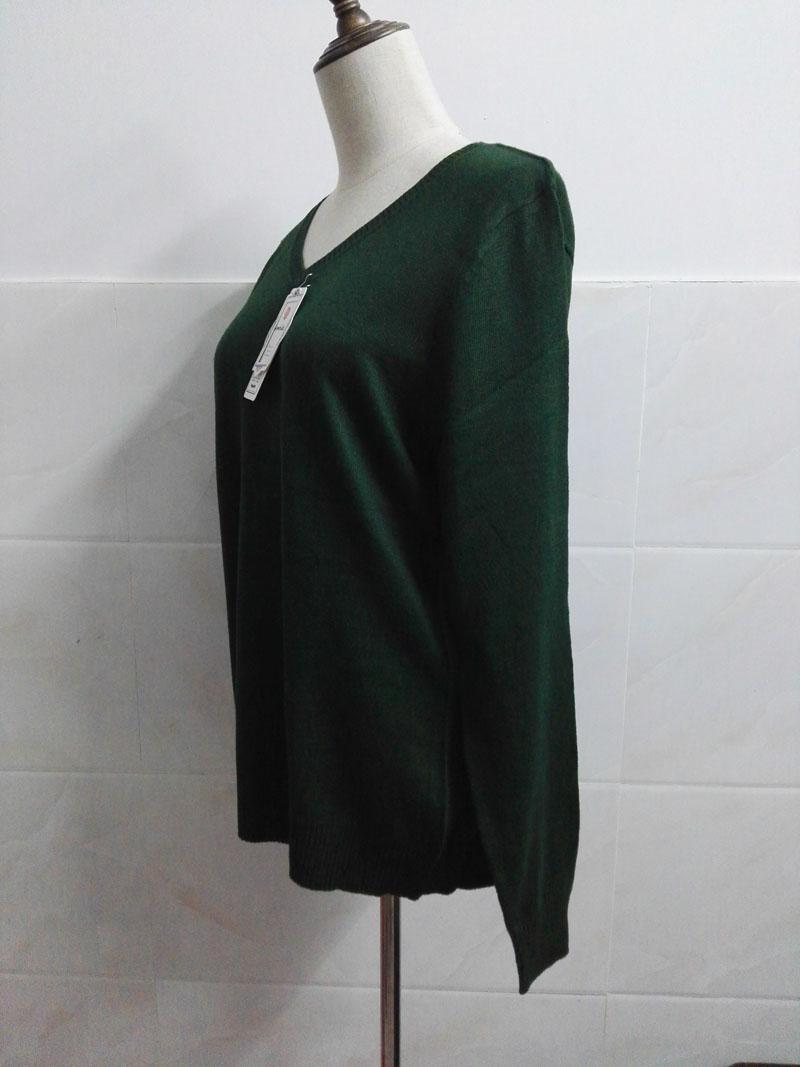 Cashmere Sweater V Neck Women Fashion Autumn Pullovers Knit Cashmere Sweater Women Slim Knit Coat Female Blouse Winter Knitwear 41