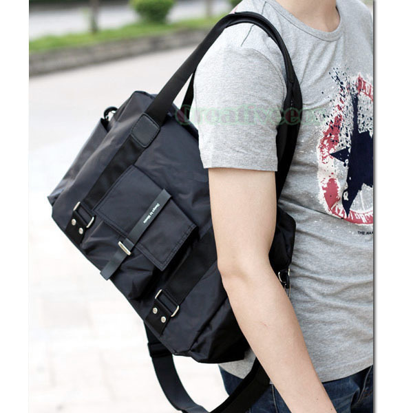 New Mens  Fashion Waterproof  Nylon Cross body Messenger  Casual Schoolbag Handbag Tote Bag Handbags<br><br>Aliexpress
