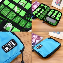 Travel Bags Data Cable Practical Earphone Wire Storage Bag Power Line Organizer electric Flash Disk Case Digital Free Shipping