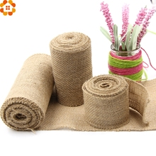 Buy 3M/Lot Jute Burlap Rolls Hessian Ribbon Lace Rustic Vintage DIY Ornament Burlap Home Decor Birthday/Wedding Party Decoration for $1.86 in AliExpress store