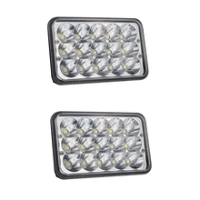 COLIGHT H4 Led Headlight 45W High Low 18W 2Pcs 4X6 Rectangle Daytime Running Lights for Gmc C4500/C5500 Kenworth Truck Light