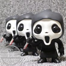 Imperfect Original Funko pop Second-hand Horror: Scream - Ghostface Vinyl Action Figure Collectible Model Toy Cheap No box(China)