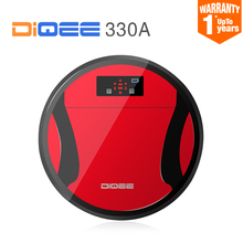 2016 Smart Robot Vacuum Cleaner for Home Sweeping Dust Sterilize timing Automatic Charge HEPA Filter 500ML Dust box DIQEE 330A