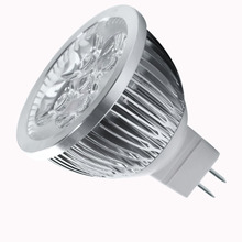 4W Dimmable MR16 LED Bulb/3200K Warm White LED Spotlight/50 Watt Equivalent Bi Pin GU5.3 Base/330 Lumen 60 Degree Beam Angle(China)