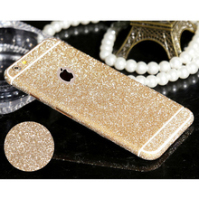 Hot selling Full Body Glitter For iphone 4 4s 5 5s 6 6s 6plus 6splus Phone Sticker Bling Phone Sticker Matte Screen Protector