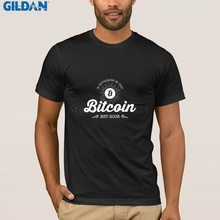 Buy T-Shirt Bitcoin Vintage Black Mens T Shirt Print Pre-Cotton Tshirt Tops Casuals for $12.87 in AliExpress store