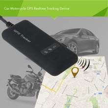 Hot Sale Realtime Car Motorcycle GSM/GPRS/GPS Tracker Quad Band Tracking Device  GPS Locator Real Time Tracking