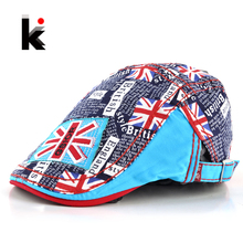 2016 fashion berets England Style Baby Hat Boy Caps For Child Girl Beret Kid Hats Children Leisure caps boina gorras planas(China)