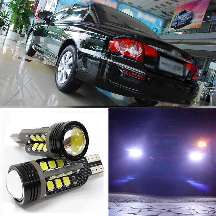 2pcs Brand New High Quality Superb Error Free 5050 SMD 360 Degrees LED Backup Reverse light Bulbs T15 For Hyundai Moinca<br><br>Aliexpress