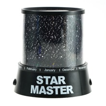 1Pc Amazing Flashing Colorful Sky Star Master Night Light Lovely Sky Starry Star Projector Novelty Gifts Free Shipping