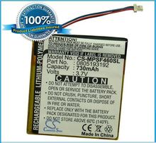 Wholesale MP3,MP4,PMP Battery For Sansa SMDX10R-8192K-P70(China)