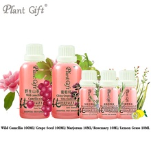 100% Pure Plant Base Oil Wild Camellia / Grape Seed/ Marjoram / Rosemary / Lemon Grass Oil 100ml Australia Imports Improve The(China)