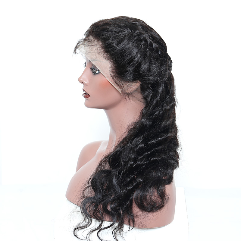 Lace-Front-Human-Hair-Wigs-Pre-Plucked-250-Density-Brazilian-Frontal-Hair-Wig-Body-Wave-Bleached