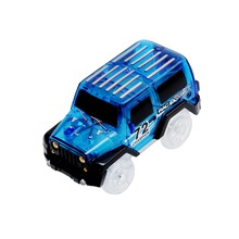 Jumrun Educational Toys For Children Play Magic Toys Electronic Car Toys for Track For Children Boys Birthday Christmas Gift(China)