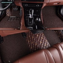 """ZHAOYANHUA car floor mats specially for Mercedes Benz C117 W211 w212 W176 W204 W205 CLA180 CLA200 all weather car styling rugs(China)"
