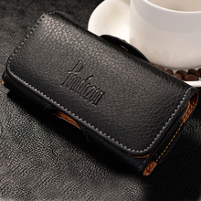 New Top grade Universal Holster Skin Waist hanging Belt Clip Leather Pouch Cover Case For Samsung Galaxy Xcover 3 G388F