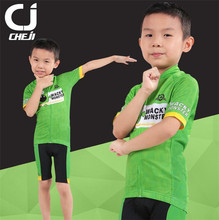 CHEJI New Kids Cycling Jersey Summer Children Cycling Clothing Ropa Ciclismo Breathable Bike Jersey Bicycle Clothes