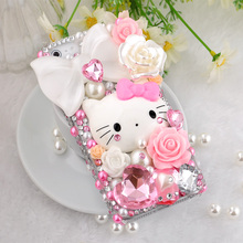 2017 Fashion New product cell phones cute hello kitty Case Cover for galaxy s6 s8 S7 edge note 3/4/5 phone 6s 7 plus
