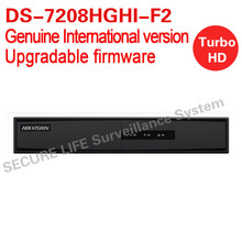 English version DS-7208HGHI-F2 8ch Turbo HD DVR 1080P with 2SATA ports support HD-TVI, IPC,AHD and analog cameras(China)