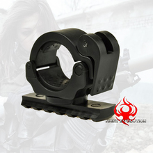 NE 08035 Night-Evolution Multifunction Tactical Mount Holder Clamp For Bike light Accessories(China)