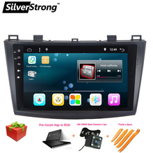 SilverStrong 2Din Android 6.0 Car Radio GPS For MAZDA3 For MAZDA 3 Car GPS Android Car Stereo with TPMS DVR DAB Optional