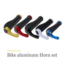2pcs/pair Road MTB Mountain Bicycle Bike Cycling Lock-On Handlebar End Grips Yellow/Red/Black/White/Blue Hand Bar(China)