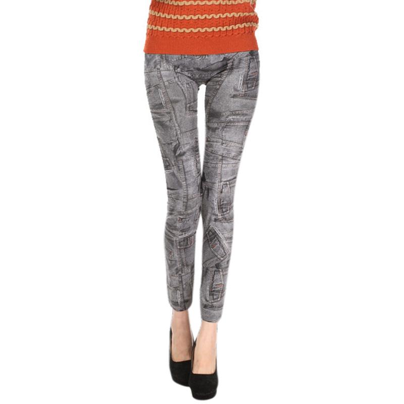 Comfortable Skinny Pants Denim Legins Women Fashion Sexy Women Jean Skinny Leggings Stretchy Slim Leggings 21
