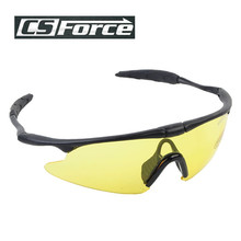 UV 400 Outdoor Sunglasses Sports Glasses Sporty Dustproof Motorcycle Sunglasses Shooting Eyewear Glasses Camping Hiking Eyewear