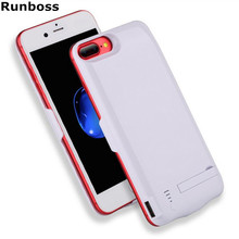Runboss for iPhone 7 Power Case 5500mAh With USB Rechargeable Battery Charger Case for iPhone 6(China)