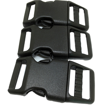 10mm 3/8 curved plastic side release buckles for dog collar accessories high quality pet collar accessories(China)