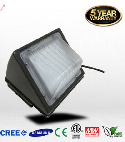 DLC ETL Outdoor LED Light Lamp Wall-Mounted Wall Lamp Wall Pack  100LM/ W IP65 25W/ 48W 85V-265V 5 Years Warranty Free Shipping<br><br>Aliexpress