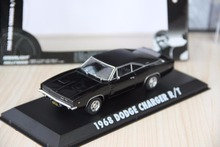 Green Light 1:43 1968 DODGE CHARGER R/T boutique alloy car toys for children Model original box freeshipping(China)