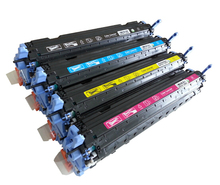 Compatible toner cartridge for HP Q6000A Q6001A Q6002A Q6003A for HP Color Laserjet 1600/2600n/2605/2605dn laser printer(China)