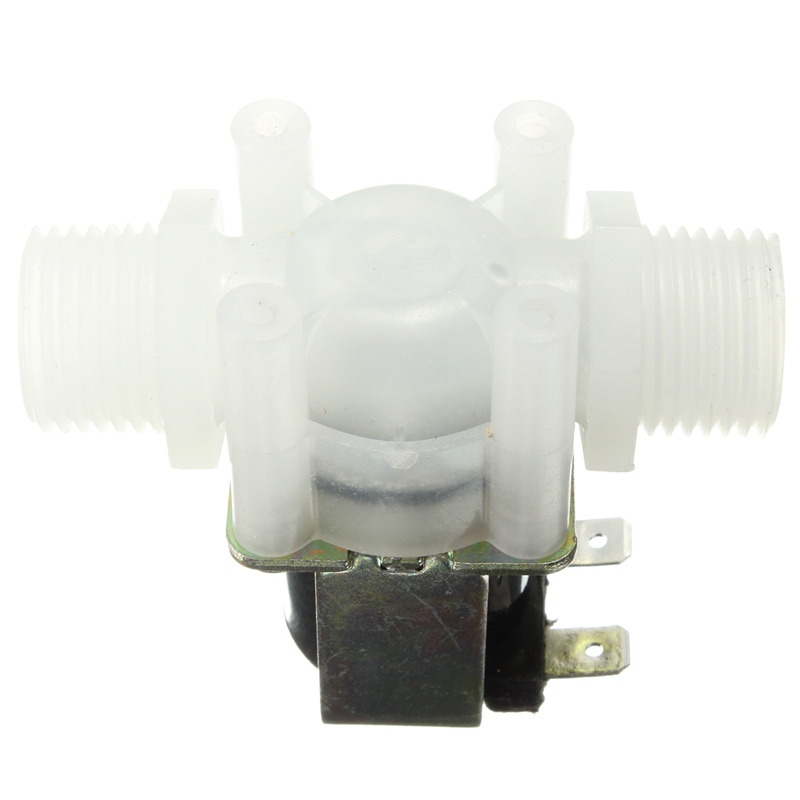 "1/2"" DC 12V Electric Solenoid Valve N/C Water Air Inlet Flow Switch Normally Closed 1/2 Inch Valves(China (Mainland))"