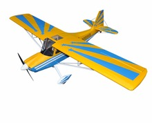 "Buy Yellow Decathlon 72"" Glow & Electric model Plane 4 Channels ARF RC Balsa Wood Airplane for $208.91 in AliExpress store"