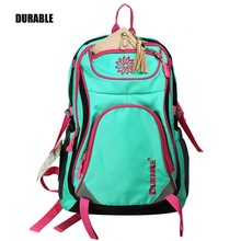 DURABLE Polyester 600D Backpack Sky blue light color Best Sell School Girl Day Go out Convenient Bag Trendy Moldel Teenager