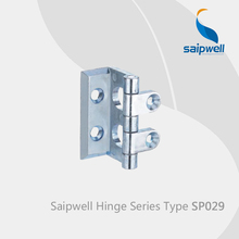 Saipwell SP029 kitchen corner cabinet hinges door hinges for pvc doors display cabinet glass hinges 10 Pcs in a Pack(China)