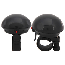 Mushroom Bicycle Electric Horn Bike Ping Ring Horns Loud Sound Bike Bell Cycling Safety Riding Electronic Cyclist Loudspeaker