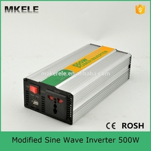 MKM500-122G off grid modified sine wave dc ac power inverter 12vdc to 240vac inverter with 500w solar inverter low cost(China)