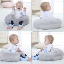 Lovely Nursing Pillow U Shaped Cuddle Baby Seat Infant Safe Dining Chair Cushion,Unique Pillow Comfortable  Infant Sitting Chair(China)