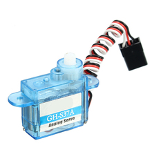 3.7g Micro Analog Servo GH-S37A For RC Airplane Helicopter(China)