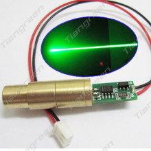 532nm 100mW Green Laser Pointer Lazer Diode Module 12*35mm with driver board(China)