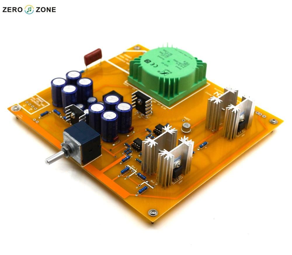 Assembled NX-03 Headphone Amplifier Board Base On Italy RudiStor NX03 Amplifier