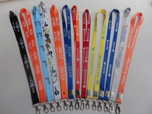 Best Quality !!! Mulit Colors  Logo Sport Neck Lanyard For Key chains ID Holder Lanyard Neck Strap