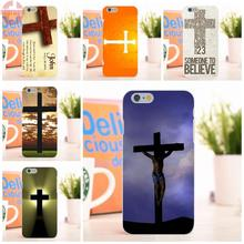 EJGROUP Soft TPU Silicon Case Protective Cross On Bible Christian For Apple iPhone 6 6S 4.7 inch