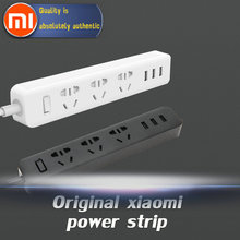 Buy 100% Original Xiaomi Power Strip Outlet Socket 3 USB Extension Socket Plug Socket Socket material PC 2500W 3 USB Free Ship for $14.95 in AliExpress store