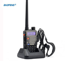 new cb Radio Vhf Uhf Dual Band Pofung Baofeng UV-5RE Two Way Radio Walkie Talkie Waterproof With VOX Radio Comunicador Portatil(China)