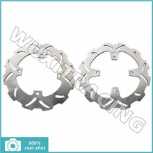 Motorcycle New Full Set Front Rear Brake Discs Rotors for KAWASAKI KX 125 250 KX125 KX250 2003 2004 2005 KX F 250 2004 2005