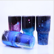 buy one get one free!!! 30OZ Christmas Gift 304 Stainless Steel Insulation Tumbler Thermos Car Cars Beer Mug Large Capacity Mug(China)