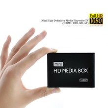 2017 New Full HD 1080P Car Media Player HDMI,AV output,SD/MMC Card Reader/USB Free shipping